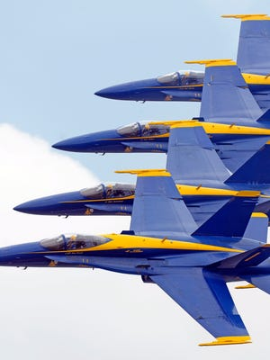 The Blue Angels Homecoming Air Show returns to Pensacola Naval Air Station this weekend.