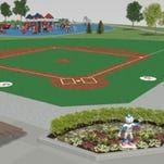 Lions Club presents huge grant to Miracle Field