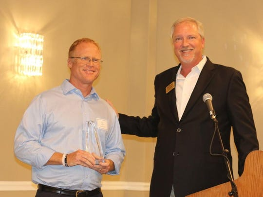The chamber honored Sanibel-Captiva Realtor Eric Pfeifer as Citizen of the Year for his community services.