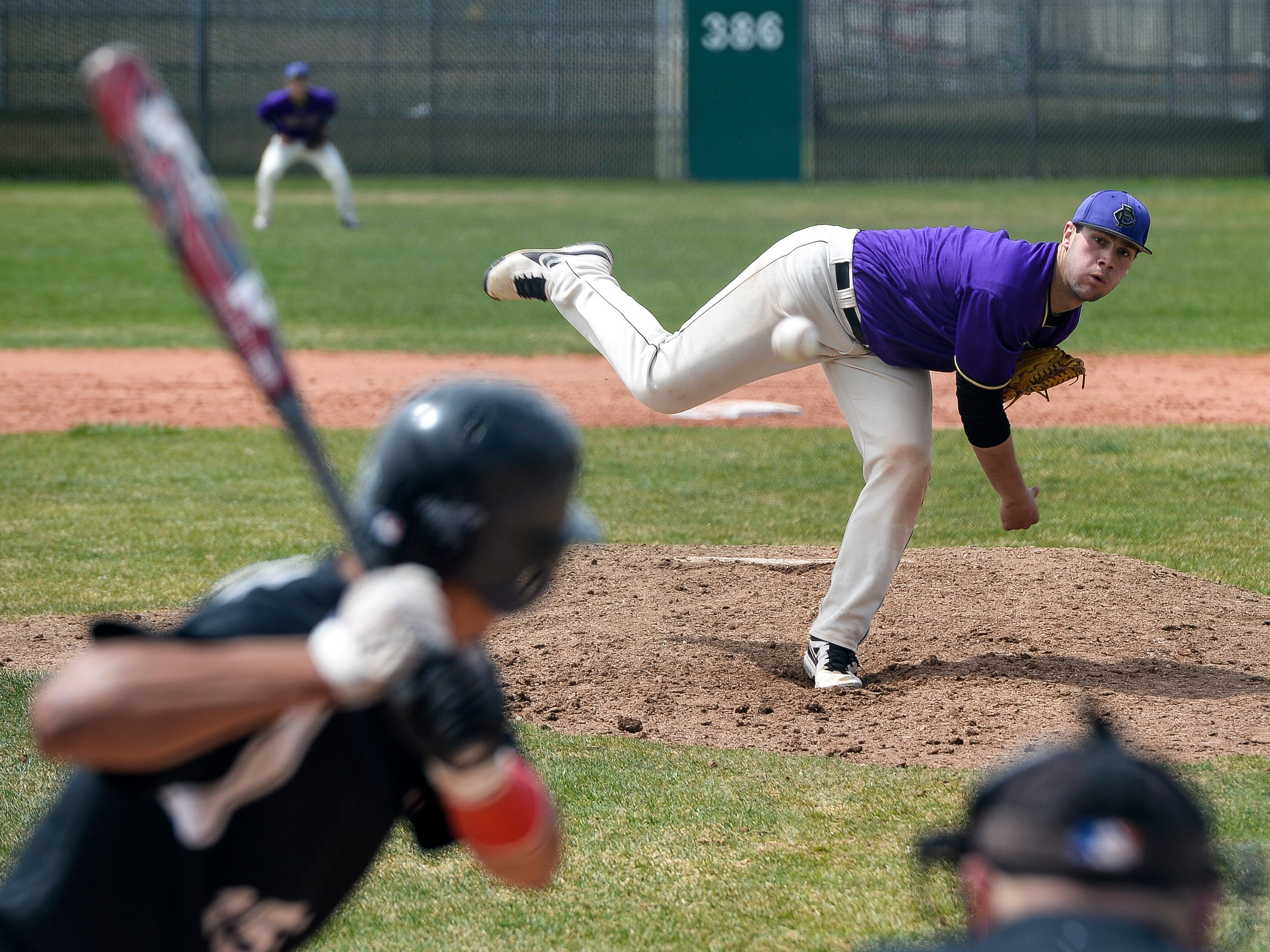 Fort Collins High School's Zach Fees, shown in a game last season, had four RBI and picked up the win on the mound in a 6-3 win over Loveland Wednesday afternoon.