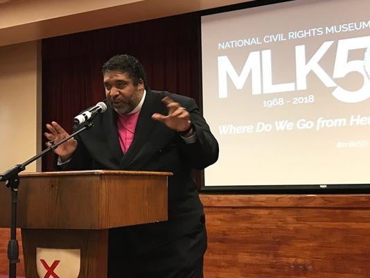 The Rev. Dr. William Barber