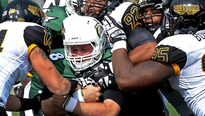 USM's defense held Charlotte to just 257 yards of offense in a 44-10 victory on Saturday.