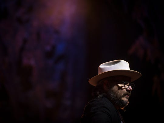 Wilco performs at the Tennessee Theatre for Big Ears Festival on Friday, March 24, 2017.