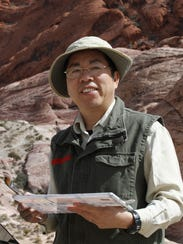 Lian Quan Zhen, watercolor artist and juror.