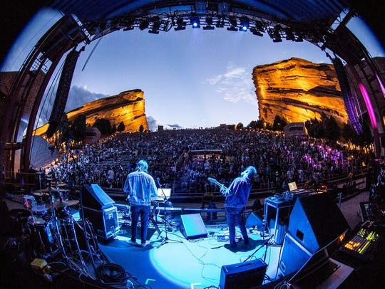 Gosh Pith at Red Rocks Amphitheatre in Colorado.