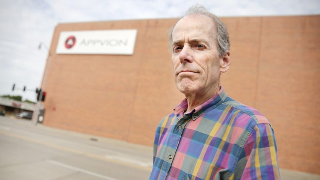 Jan Peebles of Appleton is a former Appvion employee who, like many others, lost retirement funds when the company's Employee Stock Option Plan disappeared.