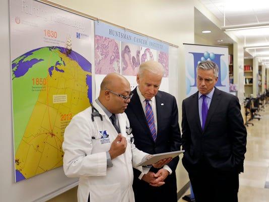Joe Biden, Jewel Samadder, Jon M. Huntsman