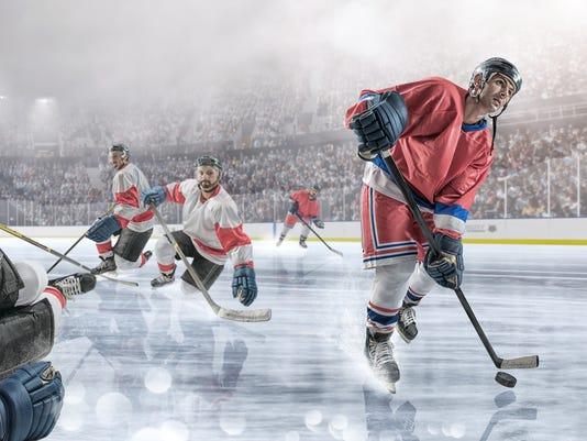 Ice Hockey Action