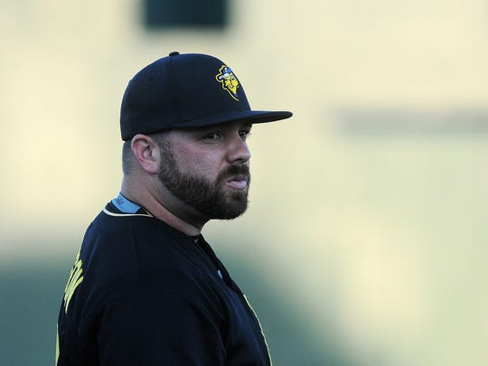 Sioux Falls Canaries manager Chris Paterson is shown in 2015.