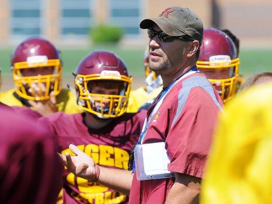 Harrisburg High School Football Practice