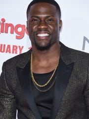 Kevin Hart arrives at the LA Premiere Of The Wedding Ringer at the TLC Chinese Theatre on Tuesday, Jan. 6, 2015, in Los Angeles, CA. (Photo by Rob Latour/Invision/AP)