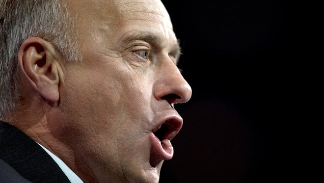 Rep. Steve King, R-Iowa, speaks at the Conservative Political Action Conference in 2013.