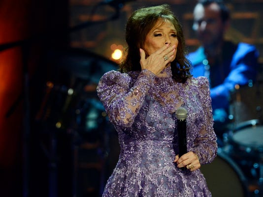 Loretta Lynn says she's better after trip to hospital causes her to miss CMT tribute