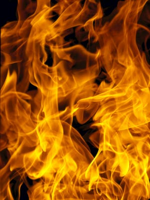 A stock image of fire.