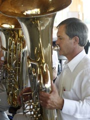 In his spare time, Stan Baskin enjoyed playing tuba