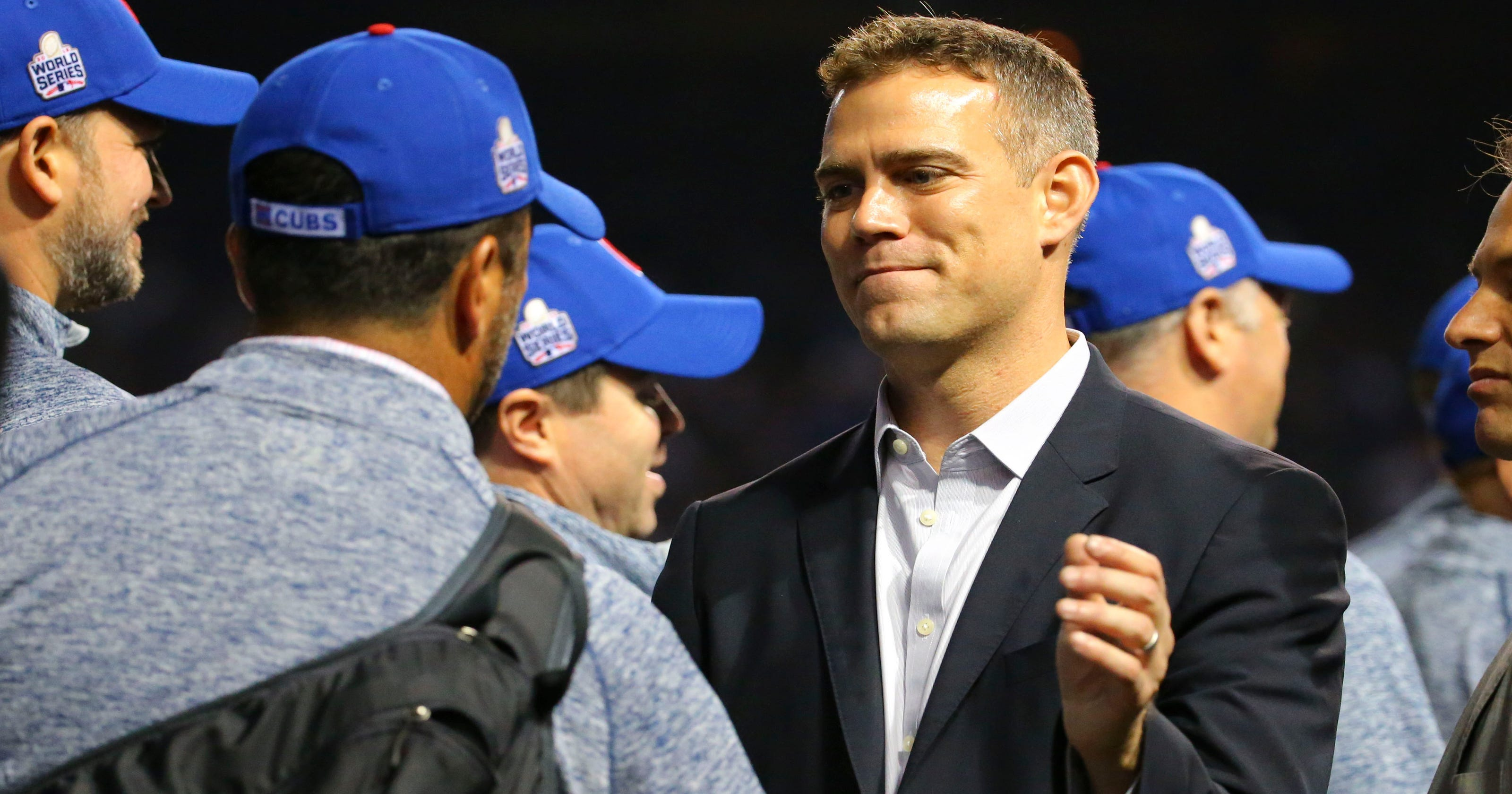 f75fddec7 Theo Epstein named Sporting News Major League Baseball Executive of the Year