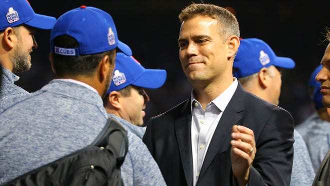 Theo Epstein has been named TSN's MLB executive of the year.
