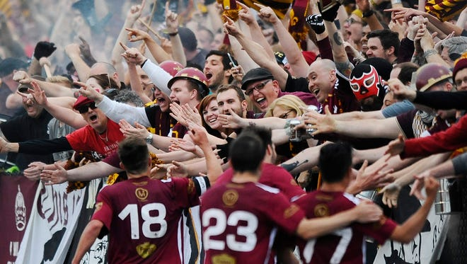 Last season, Detroit City FC's first at spruced-up Keyworth, the soccer team had planned to cap season-ticket sales at 2,000, but increased that to 2,200 because of demand.