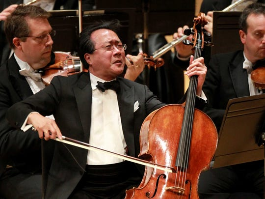 Yo-Yo Ma in his last appearance with the Cincinnati