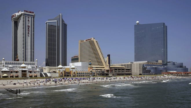 New Jersey's Assembly speaker wants to add a $2 charge to each hotel room bill in Atlantic City to help prevent massive police and firefighter layoffs in the struggling gambling resort.