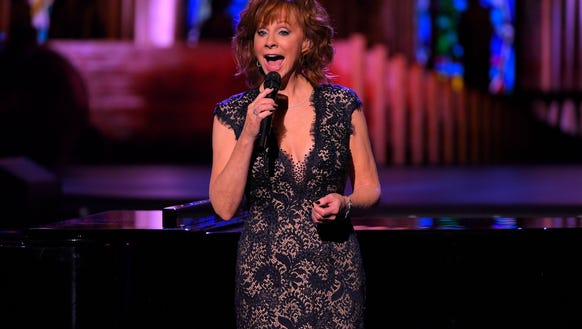 Reba McEntire performs during CMA 2017 Country Christmas