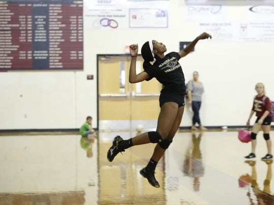 Florida High junior Nylah Demps is the Seminoles' most prolific hitter and also its most experienced.