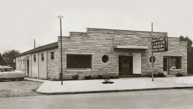 """In the in the '50s and '60s, Indianapolis 500 race drivers frequented Mates' White Front, a restaurant and bar operated by Nick and Mafalda Mates at 3535 W. 16th St. It had relocated from its original location down the road in September 1952. Despite carrying over the """"Mates White Front"""" name, the front of the new building was never painted white like the original, which had been owned and operated by George and Violet Mates, Nick Mates's parents. The restaurant's second home is currently occupied by Club Venus."""
