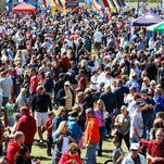 Thousands attend the Taste of the Town event Sunday at jetBlue Park in Fort Myers. The annual gathering is presented by the Junior League of Fort Myers.
