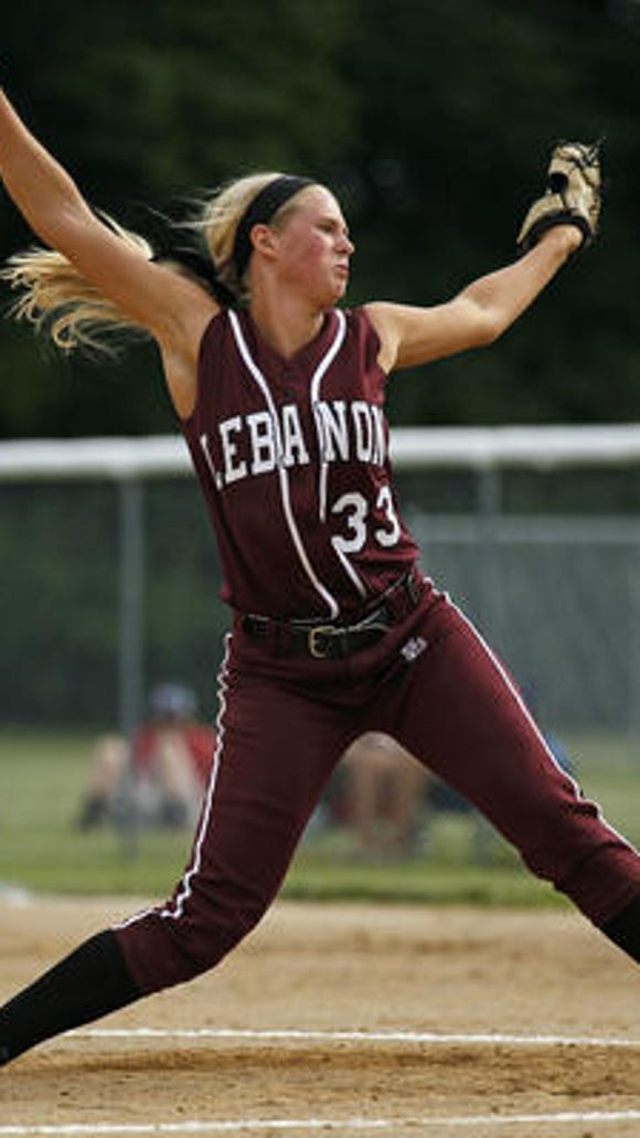 Lebanon's Tara Trainer was named an All-American this