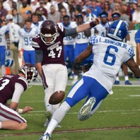 Game time for Kentucky football game against Mississippi State set