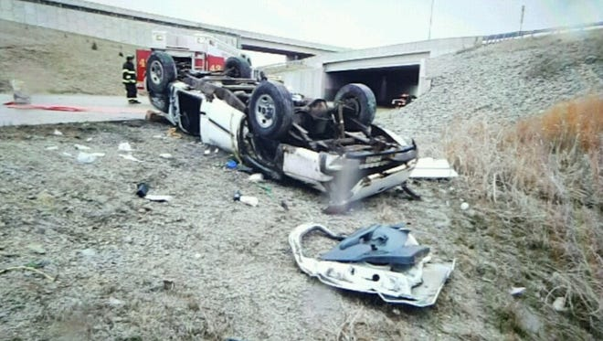 Elijah Hawkins, 77, of Peru, was killed when his vehicle crashed on the ramp from I-465 southbound to I-70 eastbound on March 27, 2017. One other person was injured in the crash.