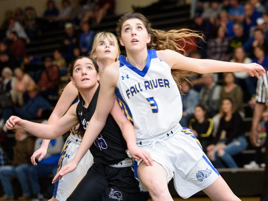 Fall River senior Madison Corder made Second Team all-Northern Section after she led the Bulldogs in points and rebounds this past season.