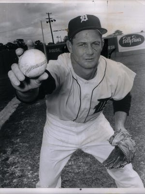 Detroit Tigers pitcher Frank Lary was an AL All-Star in 1960 and 1961.