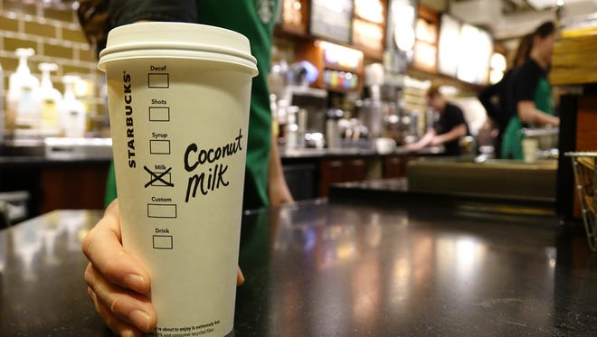 On Feb. 17, coconut milk will be available at Starbucks stores nationwide as a non-dairy, non-soy alternative to add to your Starbucks beverage.