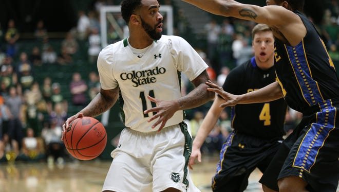Former CSU basketball player Stanton Kidd, shown playing in 2015 NIT game against South Dakota State at Moby Arena, is participating in a NBA Summer League minicamp with the Utah Jazz, trying to earn a spot on its roster for upcoming games in Salt Lake City and Las Vegas.
