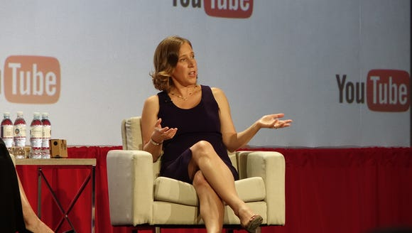 Susan Wojcicki, the CEO of YouTube