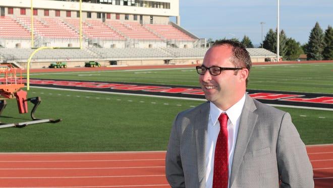 New Southern Utah Athletic Director Jason Butikofer.