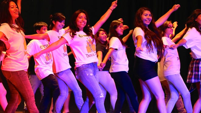 The Coachella Valley High School dance team, seen in this image, will appear on Dancing With the Stars this September.