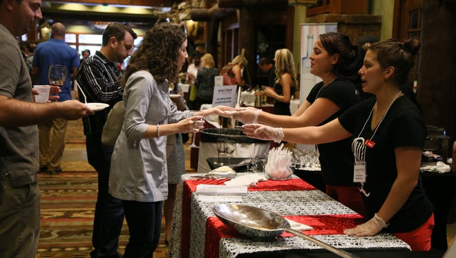 Come sample hundreds of wines, beers and spirits at the Wine and Food Celebration from 2-5 p.m. Saturday.