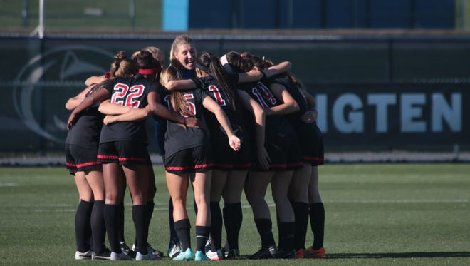 The Rutgers women's soccer team reached the Final Four for the first time in program history.