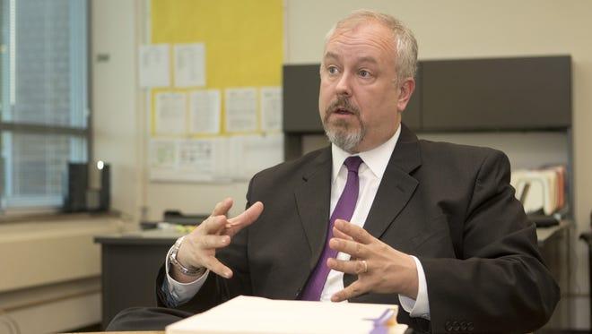 Superintendent Steve Baule
