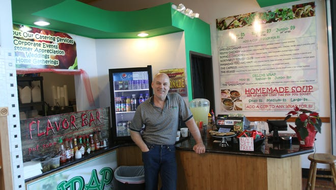 Mitch Graf opened Wrap Town in November in Salem Center mall.