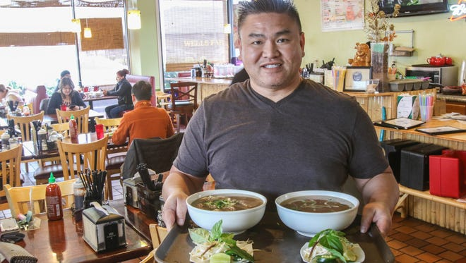 Steven Trinh serves up tasty Pho and other Vietnamese specialties at Super Pho.