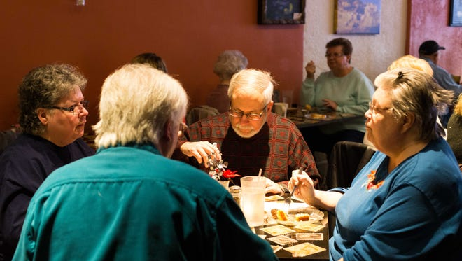 Companion Cats held a spaghetti dinner fundraiser at Barista Blues Cafe on Friday evening.