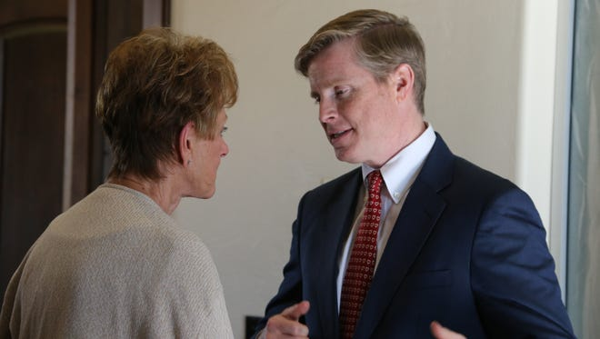 Republican Jonathan Johnson is running this year against Gov. Gary Herbert for governor.