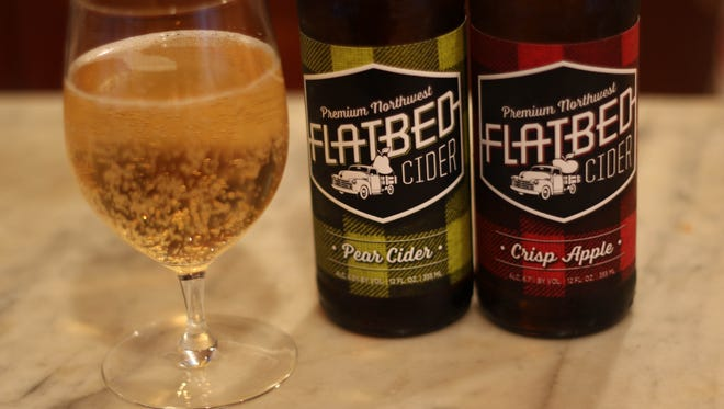 Pear Cider and Crisp Apple Cider from Flatbed Cider in Milton-Freewater are now avialable at Roth's Sunnyslope Market.