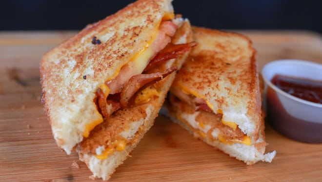 Grilled Cheese Chicken Sandwich won the first Fans' Choice Food Fight held by the Wisconsin Timber Rattlers.