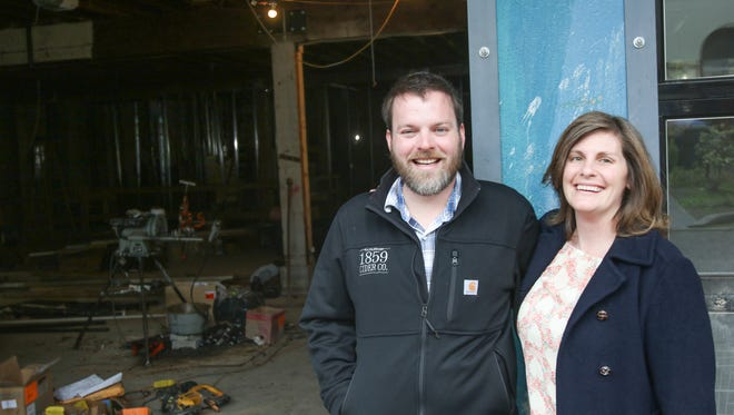 Dan and Patricia Fox hope their business will bring new life to an alley off Liberty Street NE