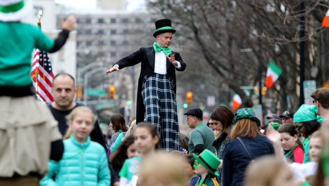 The 25th annual Somerville St. Patrick's Day Parade was held in downtown on Sunday, March 13, 2016. This year's parade is scheduled for March 12.