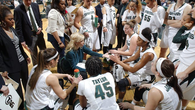 MSU's women's basketball team couldn't host the first two rounds of the NCAA tournament this year because the Breslin Center wasn't available.
